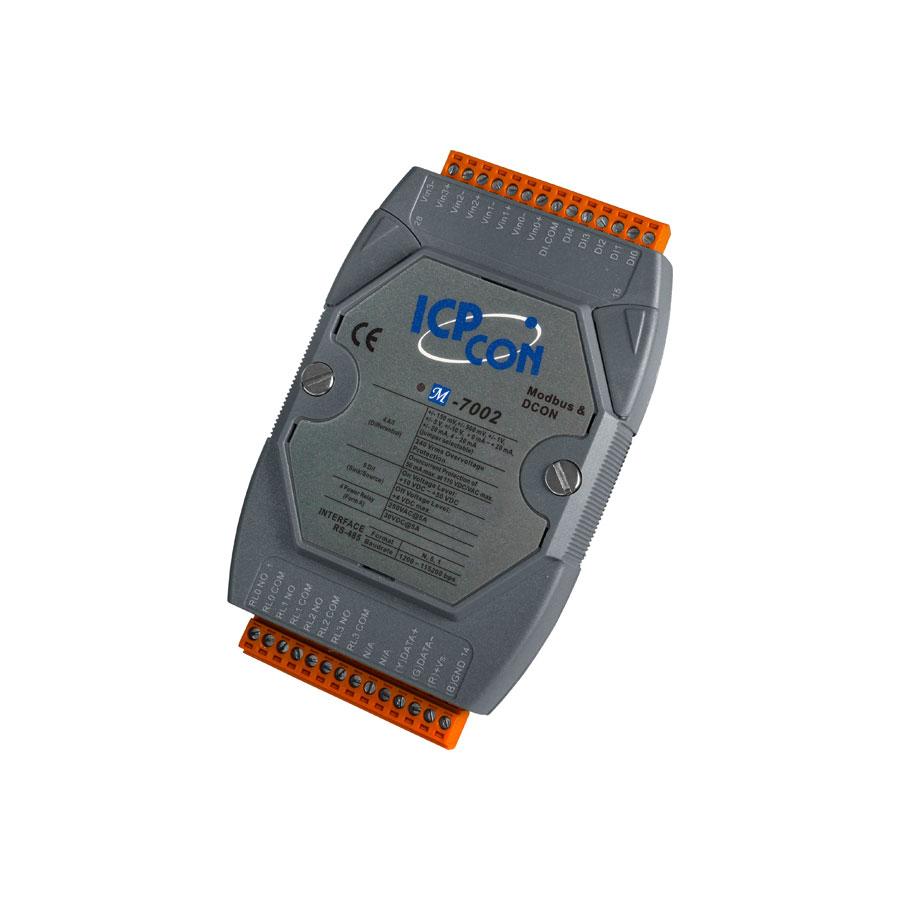 M-7002CR-ModbusRTU-IO-Module buy online at ICPDAS-EUROPE