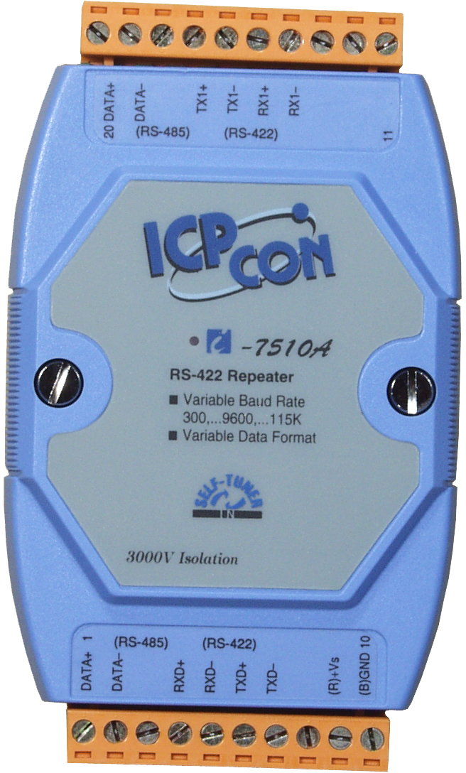 I-7510ACR-Repeater buy online at ICPDAS-EUROPE