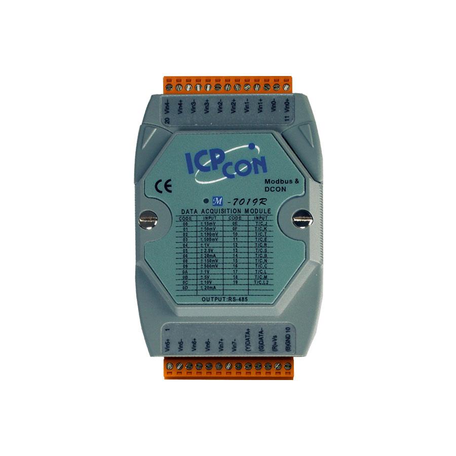 M-7019R-GCR-ModbusRTU-IO-Module buy online at ICPDAS-EUROPE