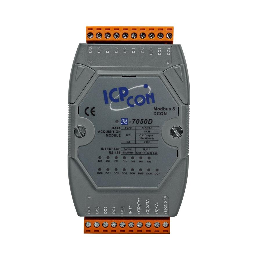M-7050D-GCR-ModbusRTU-IO-Module buy online at ICPDAS-EUROPE