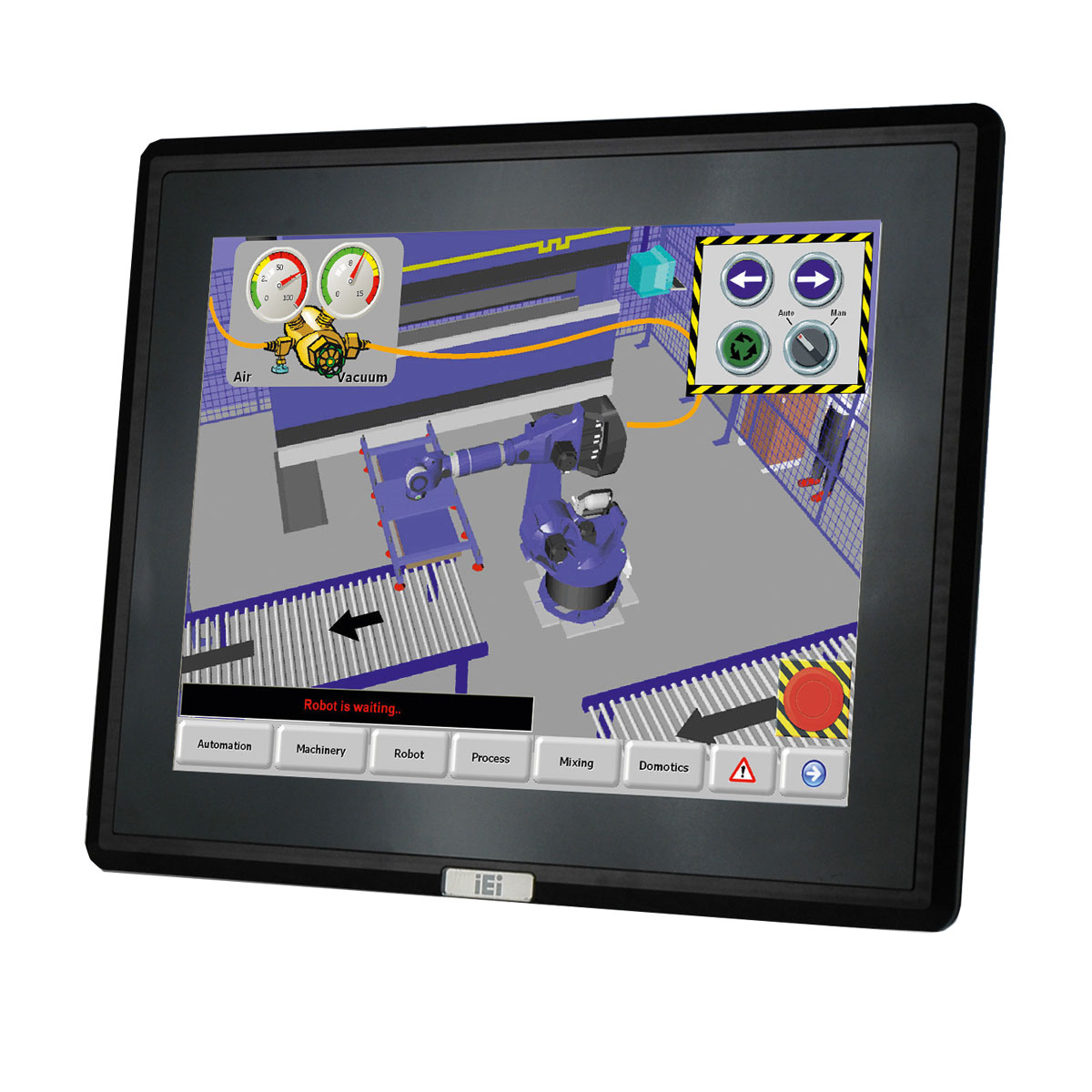 DM-F65A-R-R10-Panel-Monitor buy online at ICPDAS-EUROPE
