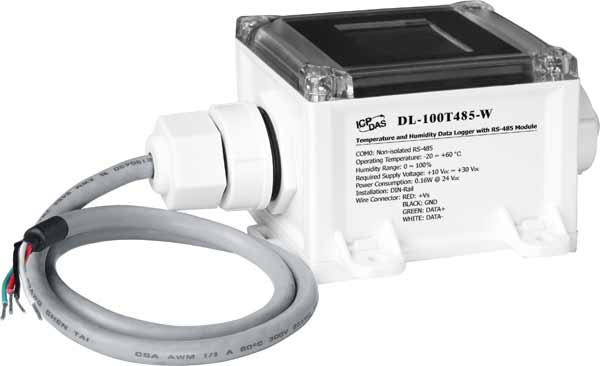 DL-100T485-W-Data-Logger buy online at ICPDAS-EUROPE
