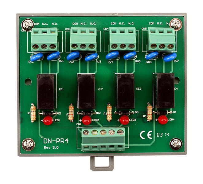 DN-PR4-Relay-Board buy online at ICPDAS-EUROPE