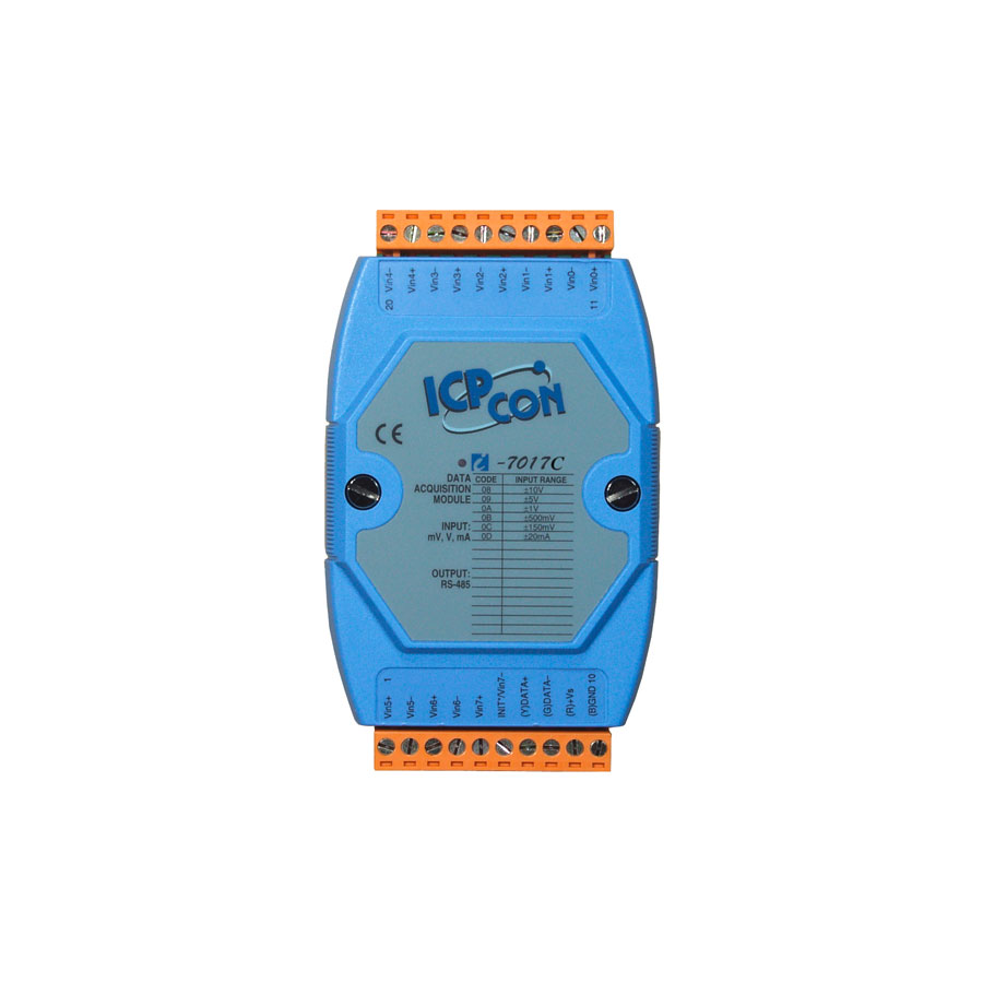 I-7017CCR-DCON-IO-Module buy online at ICPDAS-EUROPE