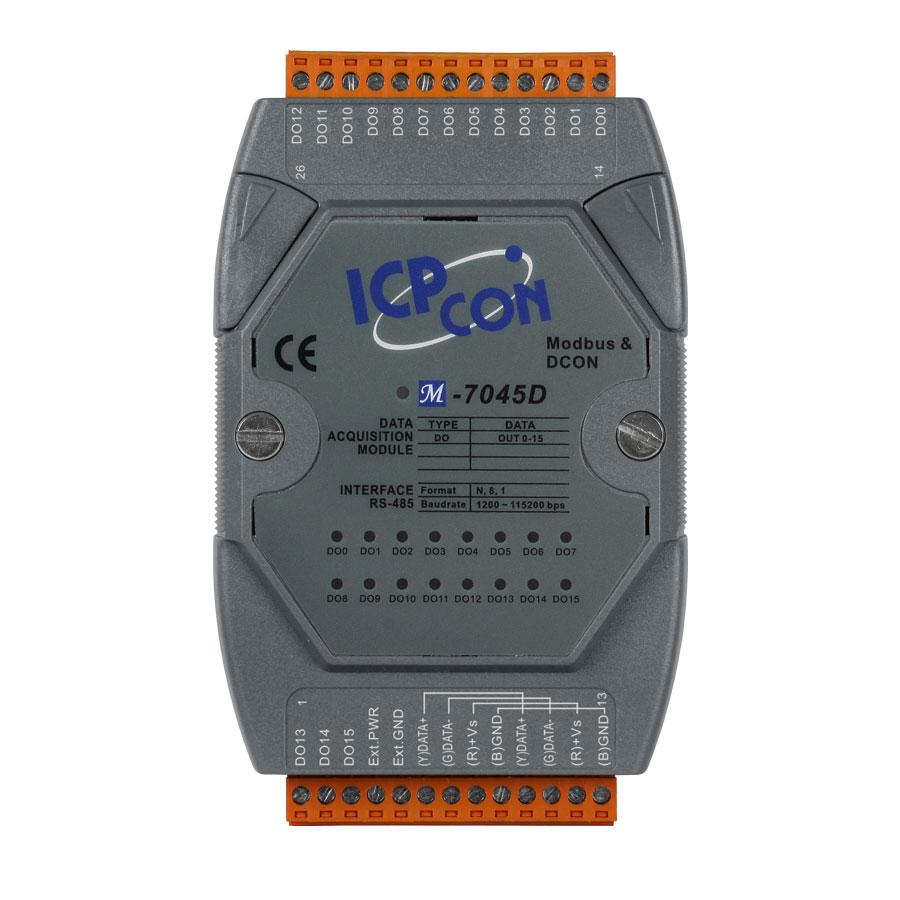 M-7045D-GCR-ModbusRTU-IO-Module buy online at ICPDAS-EUROPE
