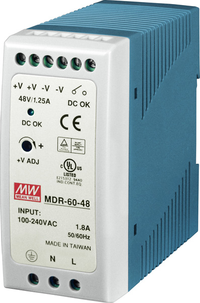 MDR-60-48CR-Power-Supply buy online at ICPDAS-EUROPE