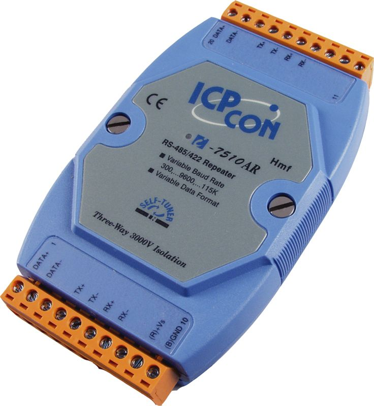 I-7510ARCR-Repeater buy online at ICPDAS-EUROPE