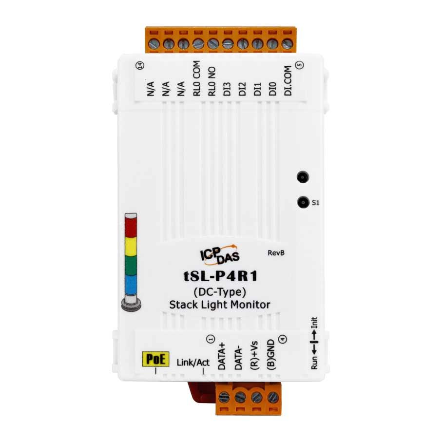 tSL-P4R1-Stack-Light-Monitor buy online at ICPDAS-EUROPE