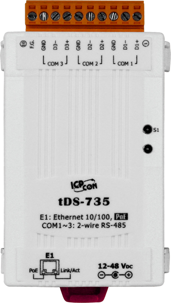 tDS-735CR-Device-Server buy online at ICPDAS-EUROPE
