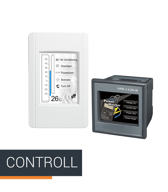 ICPDAS-EUROPE catégorie de produit Controll