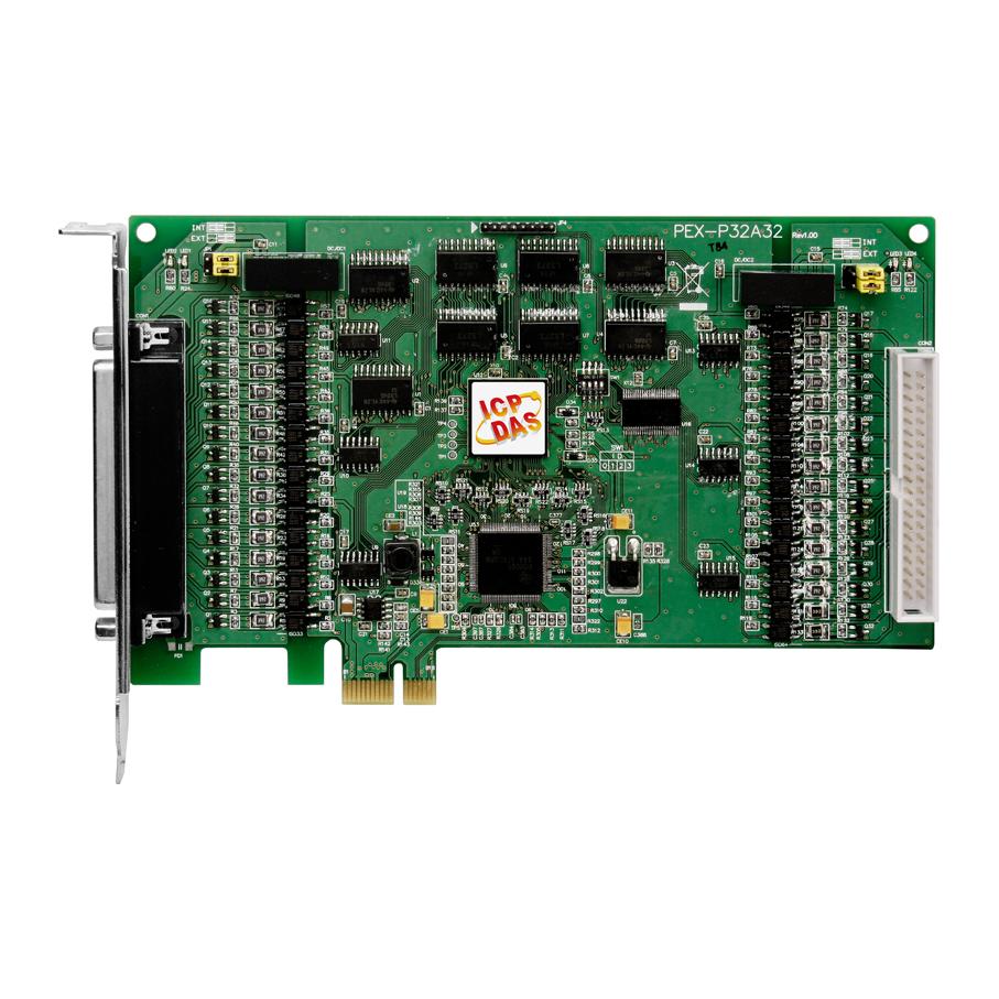 PEX-P32A32CR-Digital-PCIE-Board buy online at ICPDAS-EUROPE