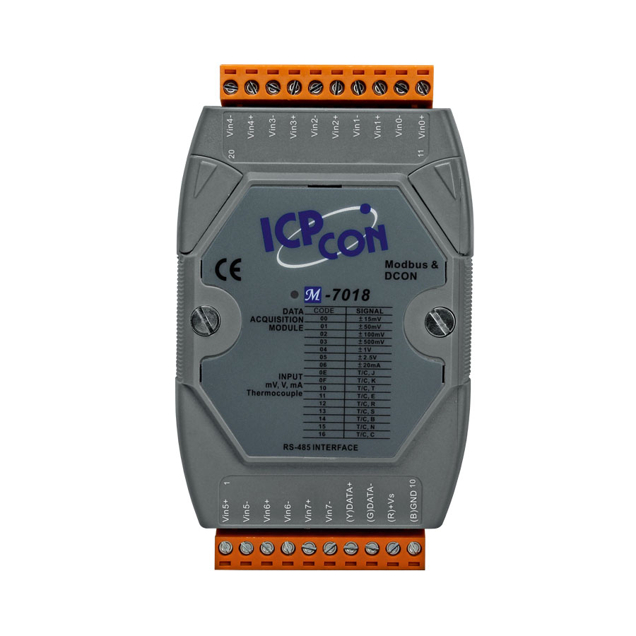 M-7018-GCR-ModbusRTU-IO-Module buy online at ICPDAS-EUROPE
