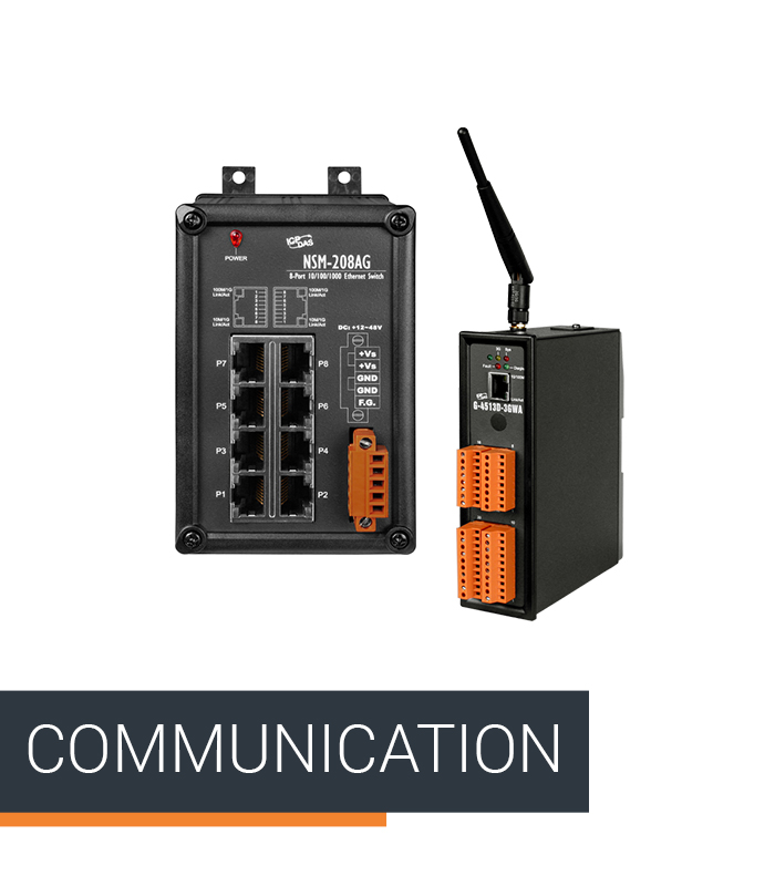 ICPDAS-EUROPE Product Category Communication