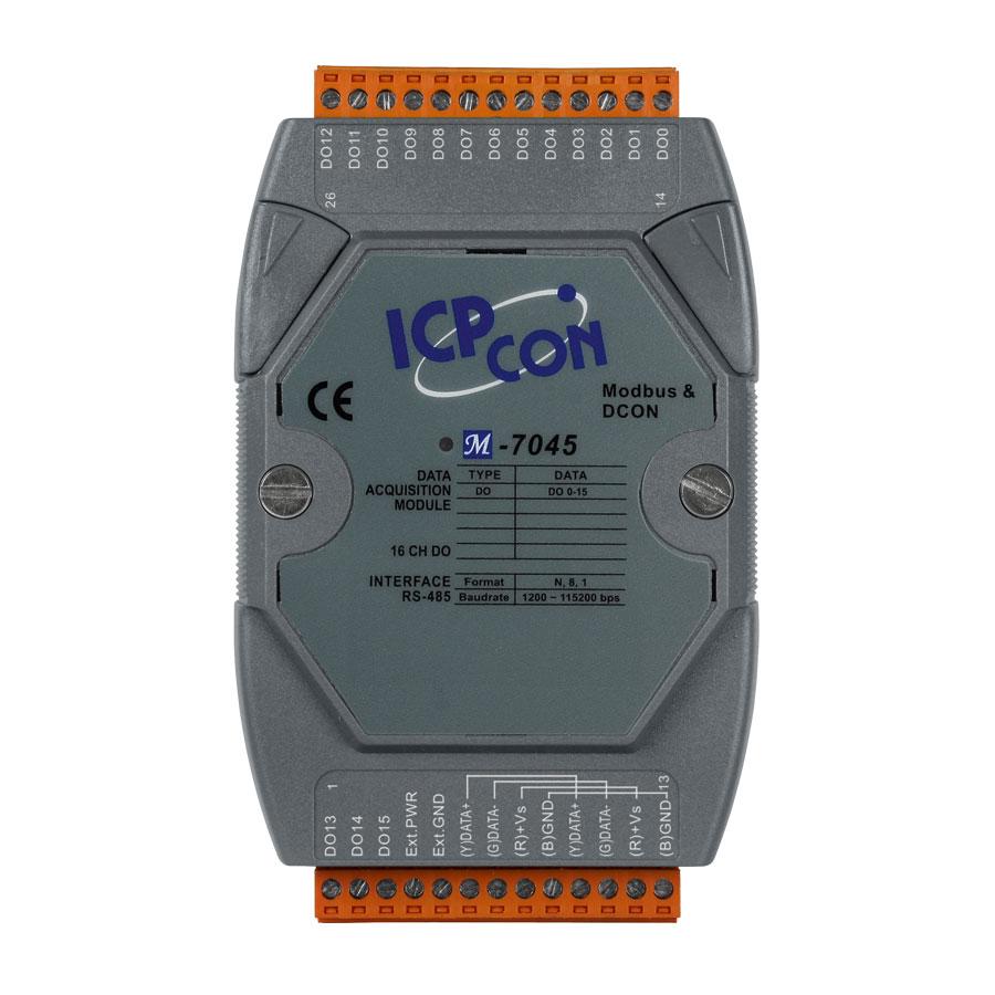 M-7045-GCR-ModbusRTU-IO-Module buy online at ICPDAS-EUROPE