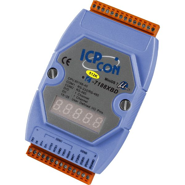 I-7188XBD-512CR-MiniOS-Automation-Controller buy online at ICPDAS-EUROPE