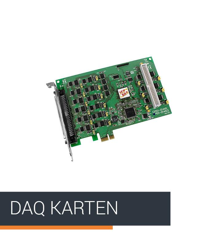 ICPDAS-EUROPE Produkt Kategorie DAQ-Karten