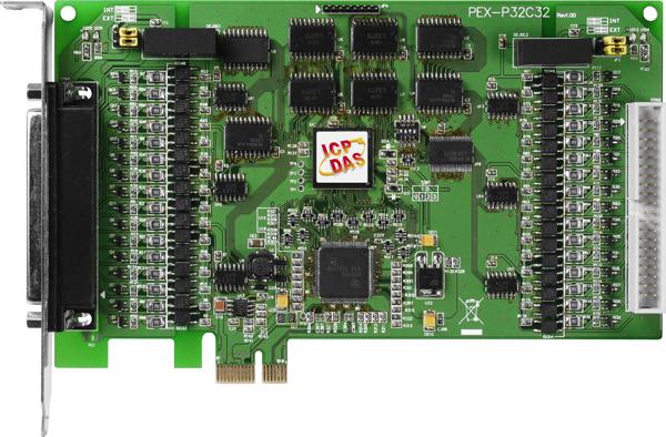 PEX-P32C32CR-Digital-PCIE-Board buy online at ICPDAS-EUROPE