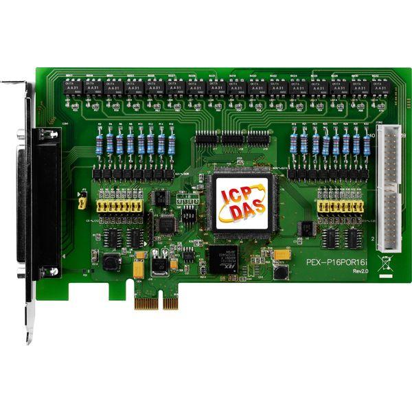 PEX-P16POR16iCR-Digital-PCIE-Board buy online at ICPDAS-EUROPE