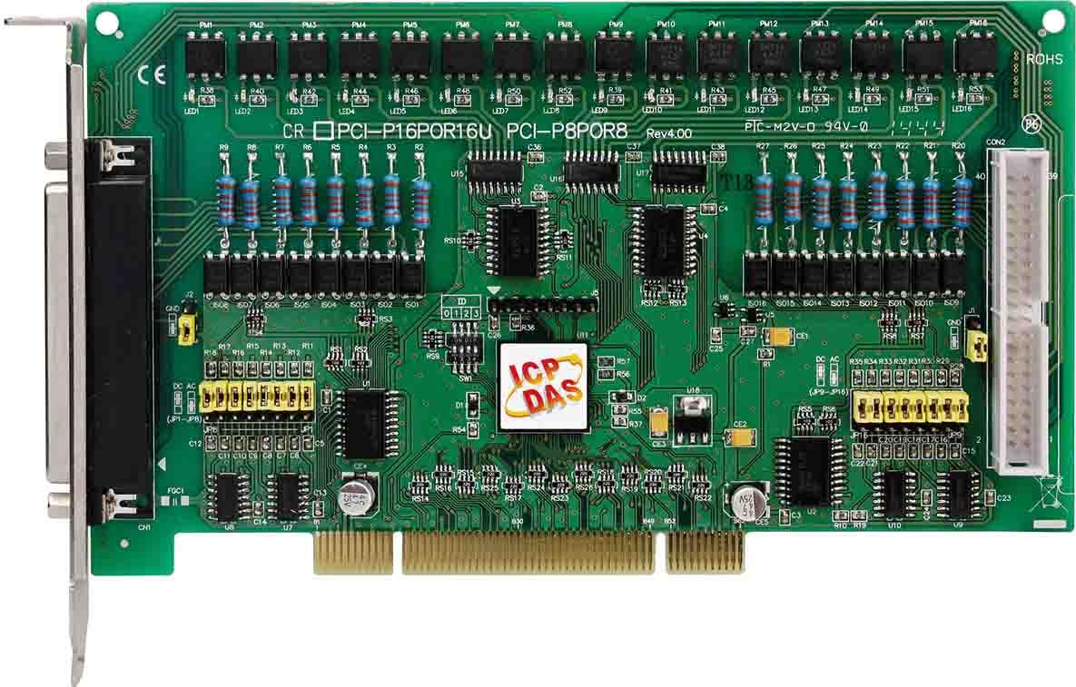 PCI-P16POR16UCR-Digital-PCI-Board buy online at ICPDAS-EUROPE