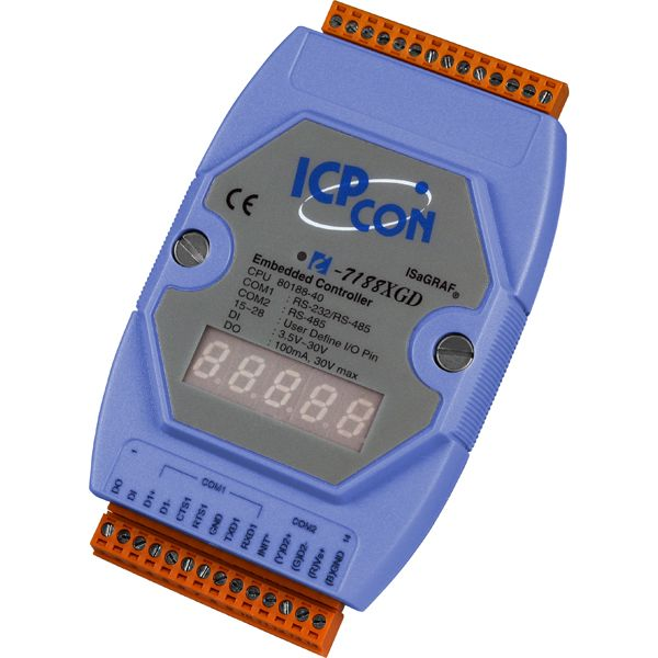I-7188XGDCR-MiniOS-Automation-Controller buy online at ICPDAS-EUROPE