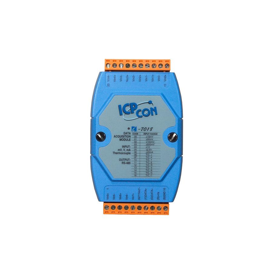 I-7018CR-DCON-IO-Module buy online at ICPDAS-EUROPE