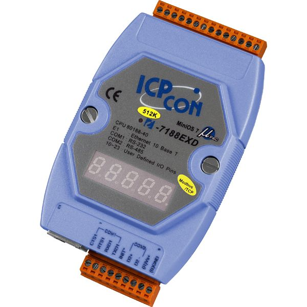 I-7188EXD-MTCPCR-MiniOS-Automation-Controller buy online at ICPDAS-EUROPE