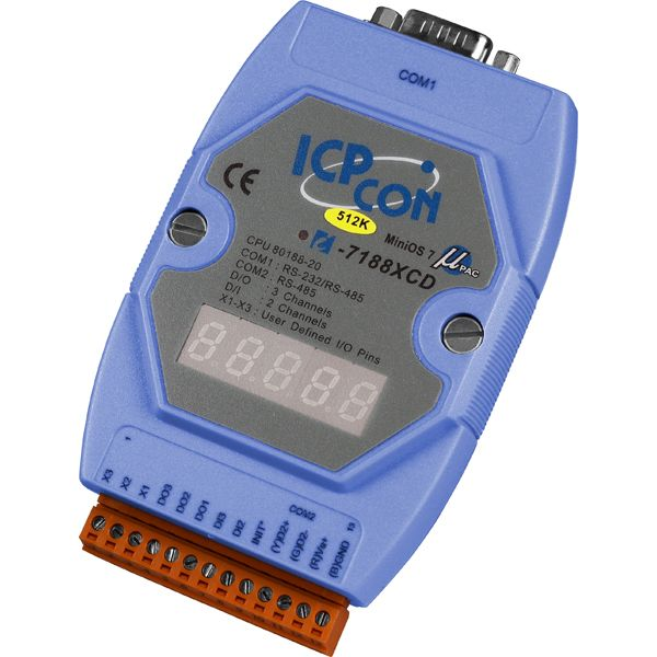 I-7188XCD-512CR-MiniOS-Automation-Controller buy online at ICPDAS-EUROPE