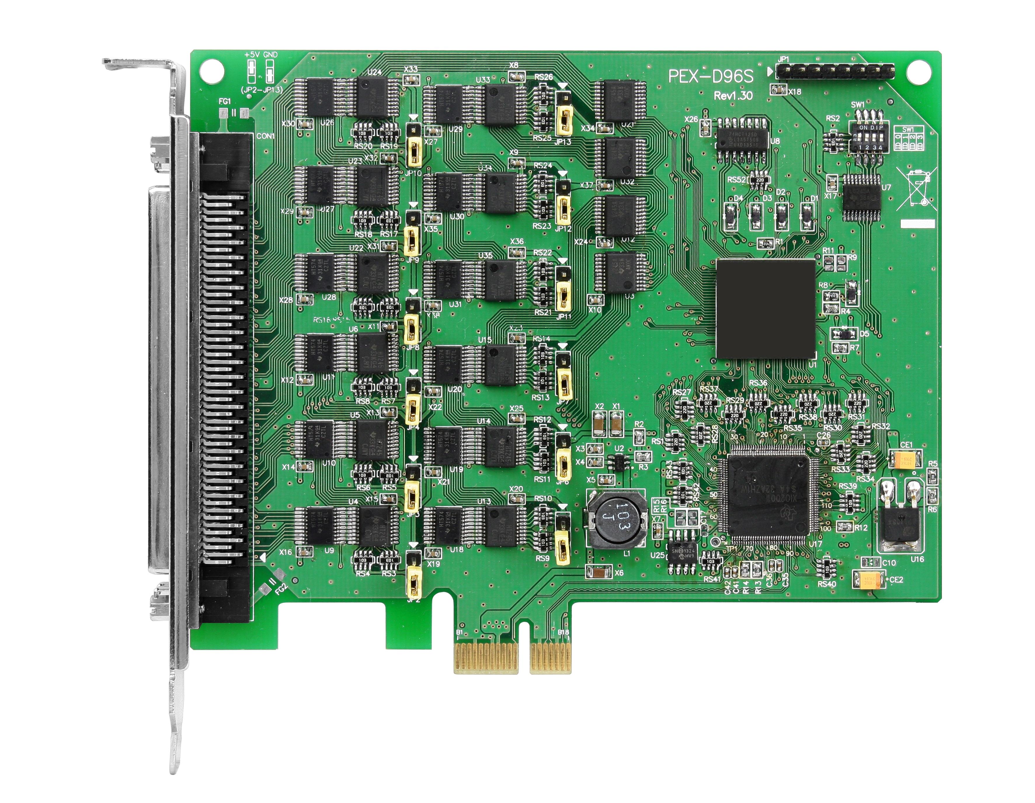 PEX-D96SCR-Digital-PCIE-Board buy online at ICPDAS-EUROPE