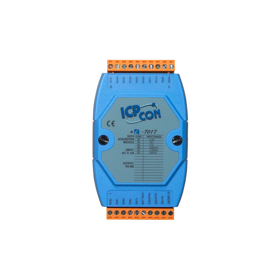 I-7017CR-DCON-IO-Module buy online at ICPDAS-EUROPE