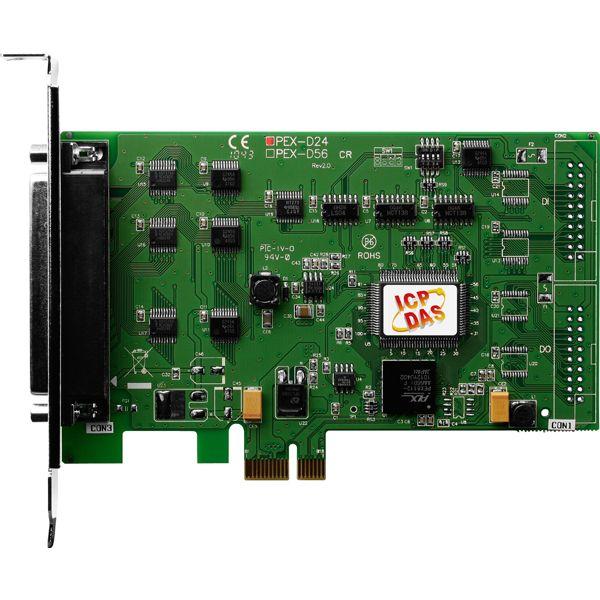 PEX-D24CR-Digital-PCIE-Board buy online at ICPDAS-EUROPE