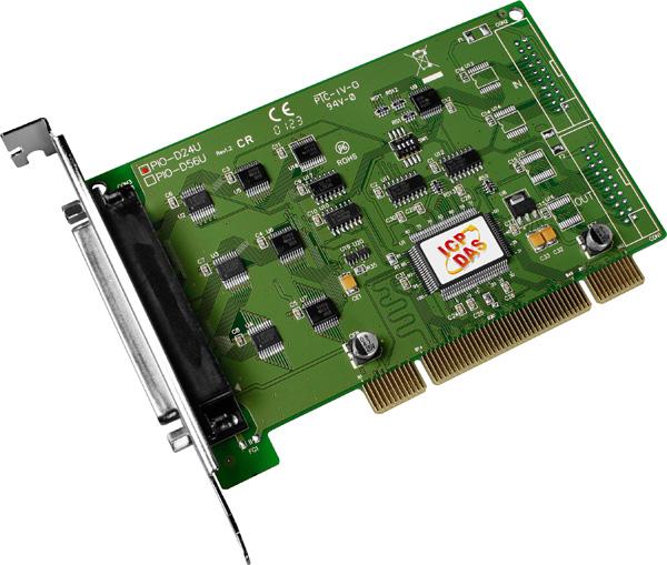PIO-D24UCR-Digital-PCI-Board buy online at ICPDAS-EUROPE