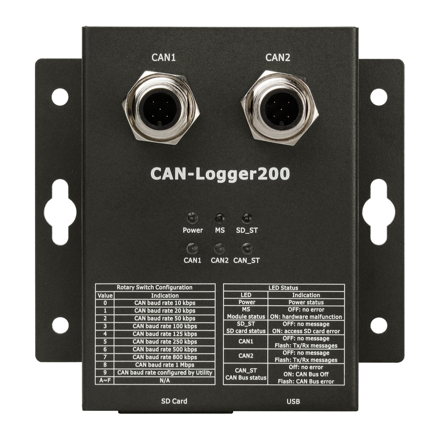 CAN-Logger200CR-Data-Logger-Device buy online at ICPDAS-EUROPE
