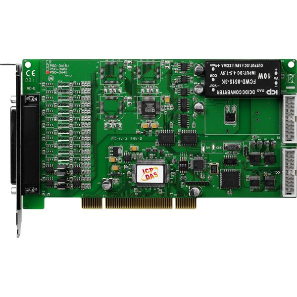 PISO-DA4UCR-Analog-PCI-Board buy online at ICPDAS-EUROPE