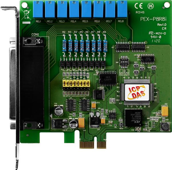 PEX-P8R8iCR-Digital-PCIE-Board buy online at ICPDAS-EUROPE