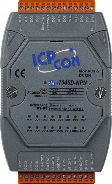 M-7045D-NPN-GCR-ModbusRTU-IO-Module buy online at ICPDAS-EUROPE